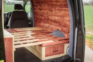 VW Caddy Conversion | Love Campers