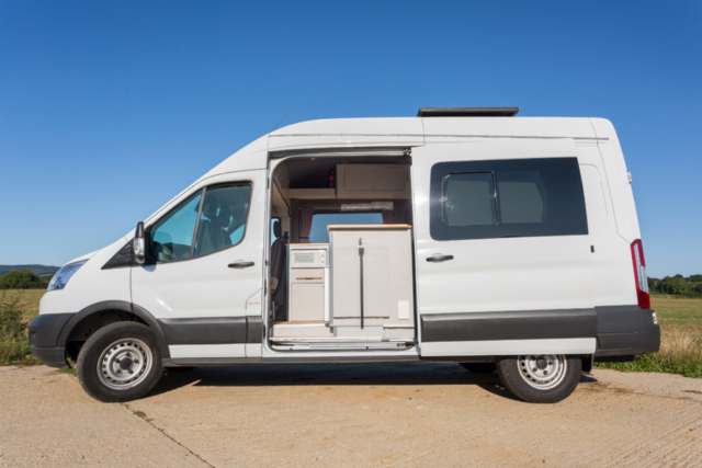 medium sized campervan conversion