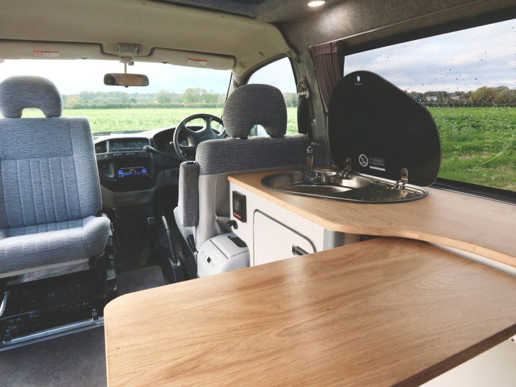 Delica Atlantis Love Campers Kitchen Table