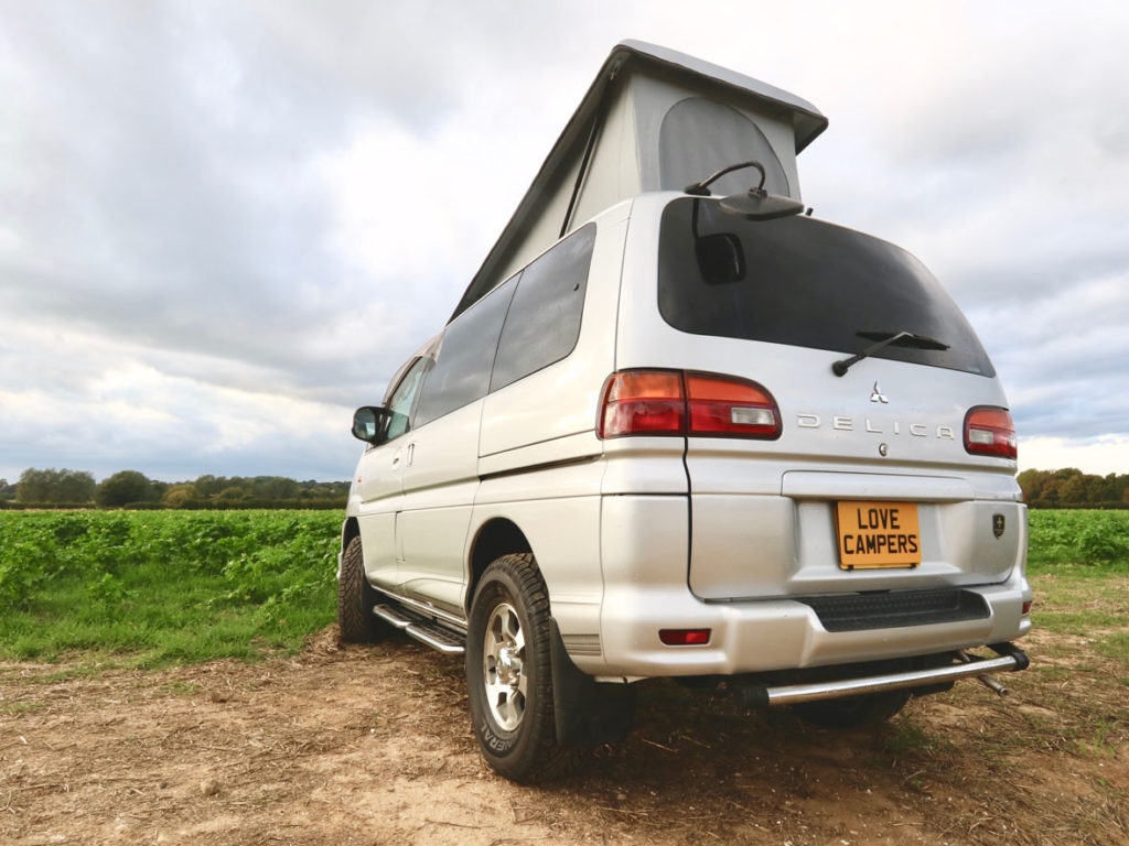 Delica Atlantis Love Campers Poptop