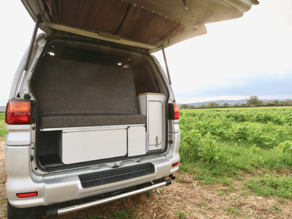 Delica Atlantis Love Campers Rear Interior
