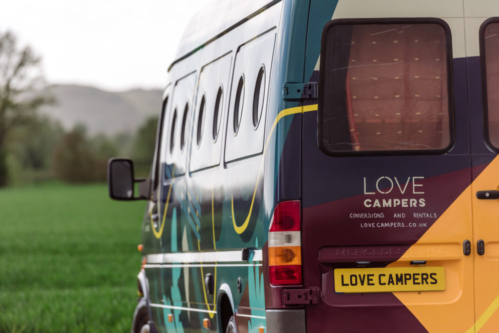 Love Campers Sprinter Conversion - Rear Exterior