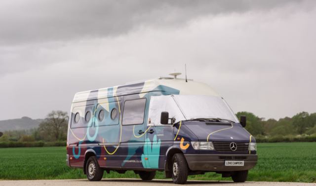 Love Campers Sprinter Conversion - Mural