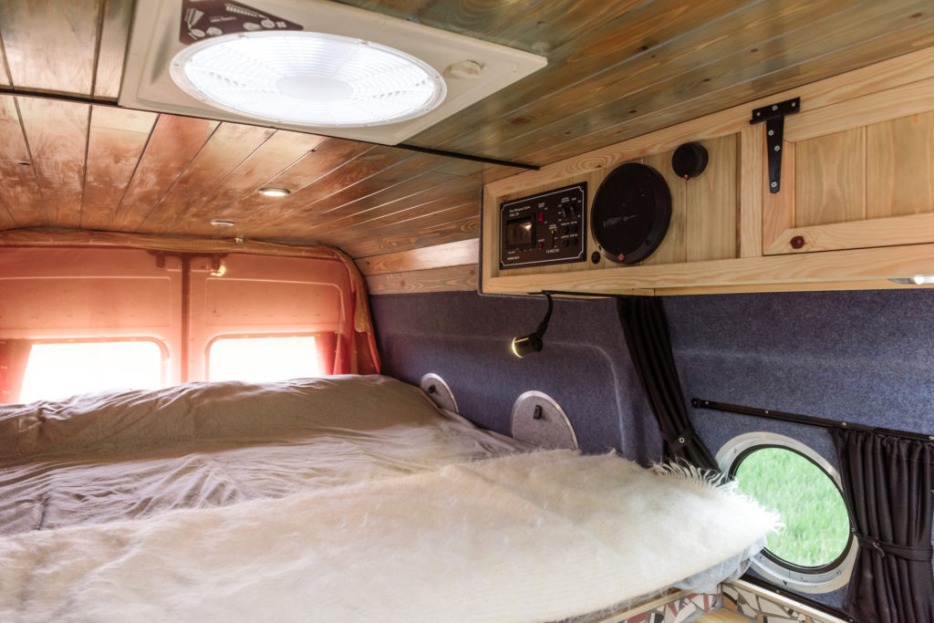 Love Campers Sprinter Conversion - Bed