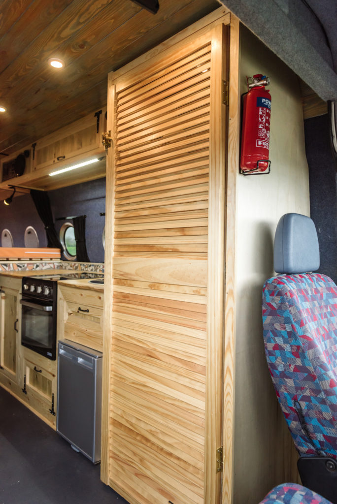 Love Campers Sprinter Conversion - Toilet