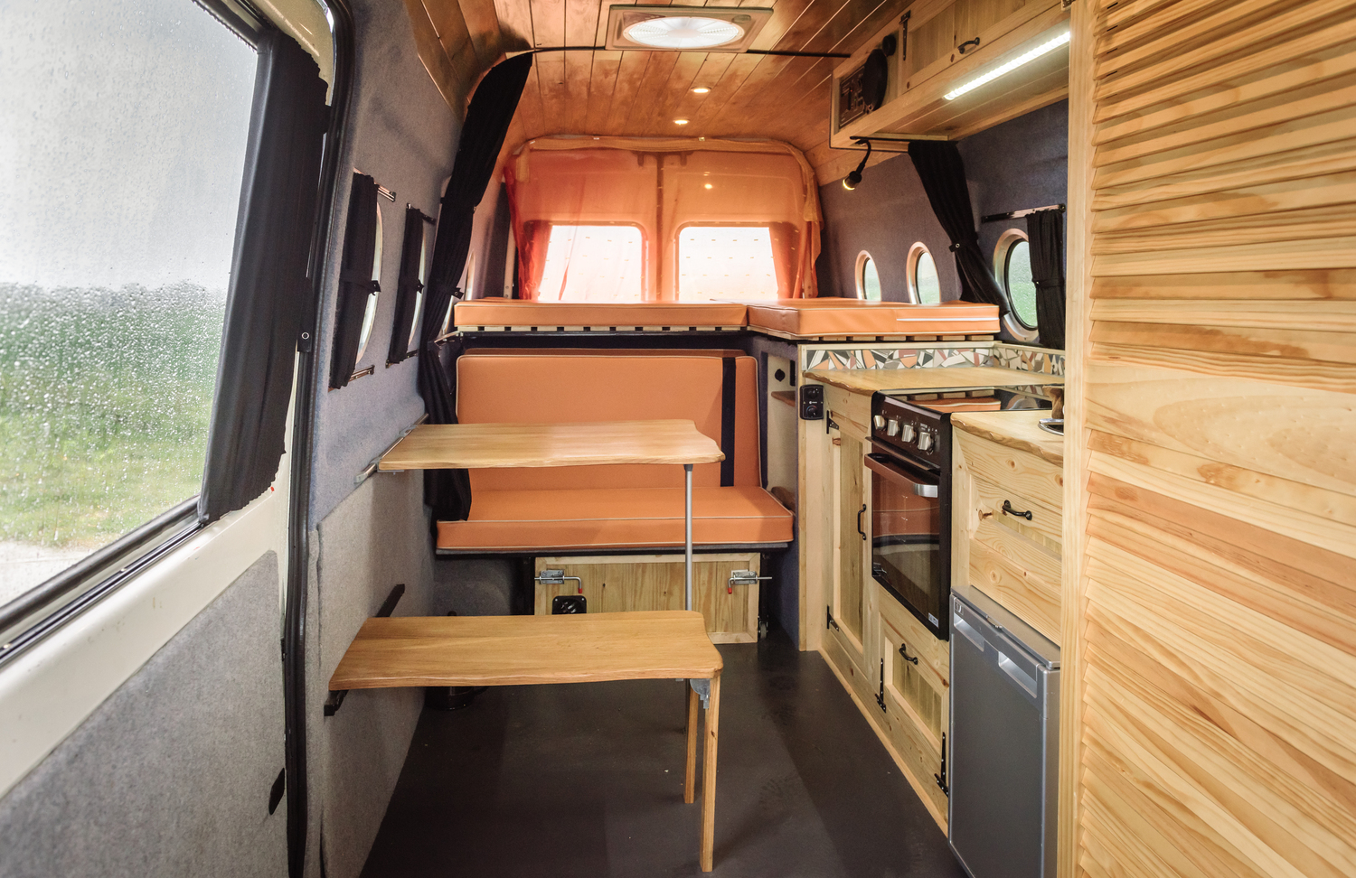 Love Campers Sprinter Conversion - Interior
