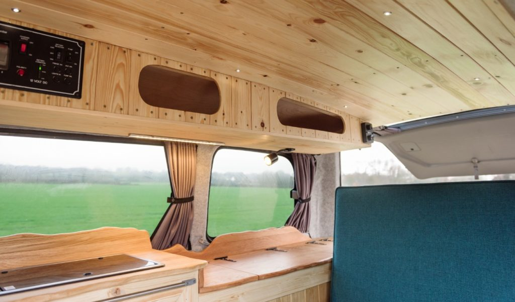 Wood finishes for your campervan conversion
