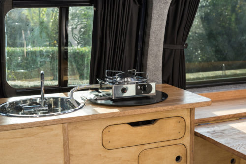 Love Campers Mandalay Conversion - Cooker