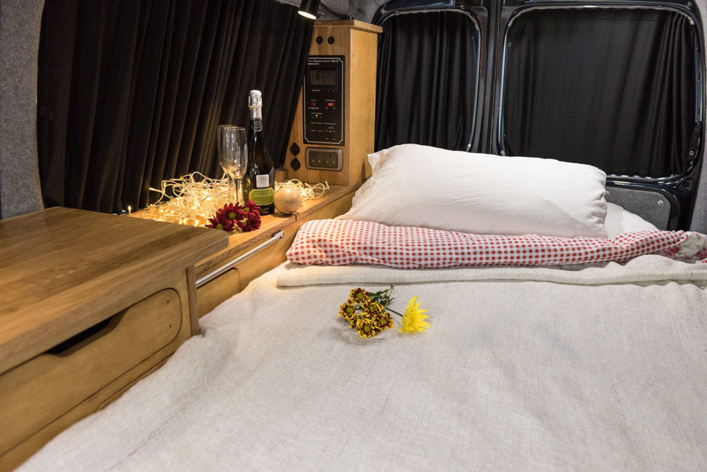 Love Campers Mandalay Conversion - Rock and Roll Bed
