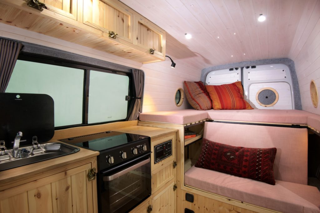 VW Crafter conversion in Santorini style