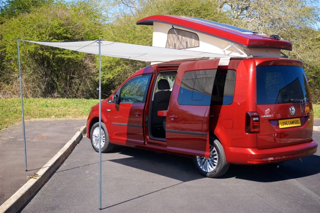 VW Caddy Reimo Awning
