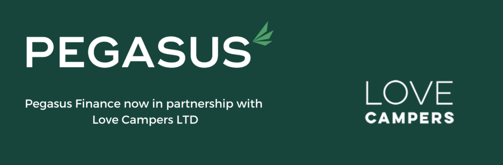 Pegasus Finance now in partnership with Love Campers LTD
